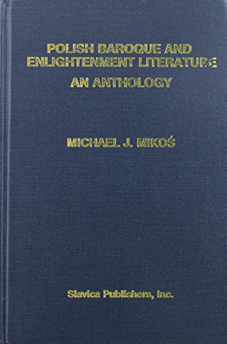 9780893572662: Polish Baroque and Enlightenment Literature: An Anthology