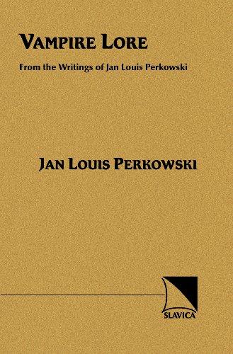 9780893573324: Vampire Lore: From Writings of Jan Louis Perkowski