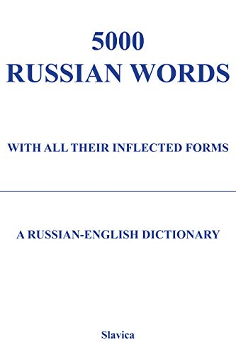 5000 Russian Words: With All Their Inflected Forms and Other Grammatical Information + Software set...