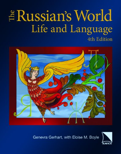 9780893573805: The Russian's World: Life and Language, Fourth Edition (English and Russian Edition)