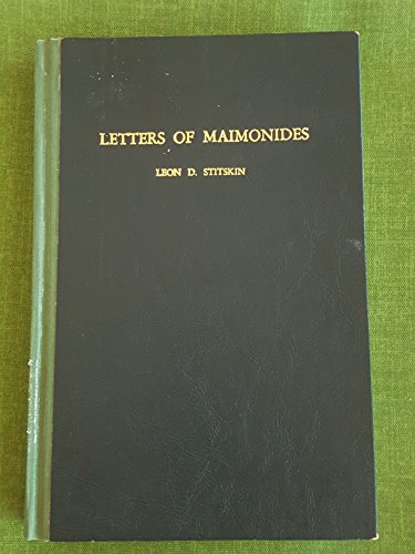 Letters of Maimonides: Moses Maimonides
