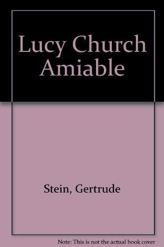 9780893661106: Lucy Church Amiably