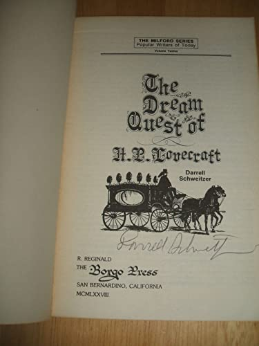 The Dream Quest of H. P. Lovecraft