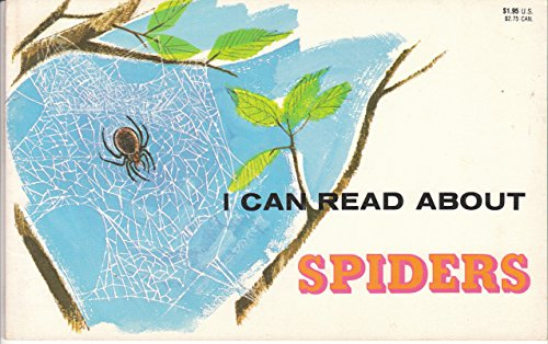 9780893750435: I Can Read About Spiders
