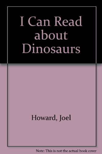 9780893750510: I Can Read About Dinosaurs