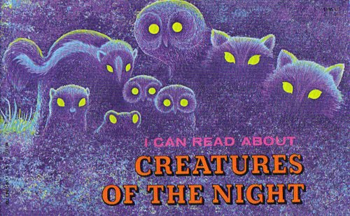 9780893752026: I Can Read About Creatures of the Night