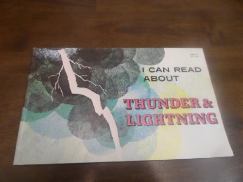 9780893752170: I Can Read About Thunder and Lightning