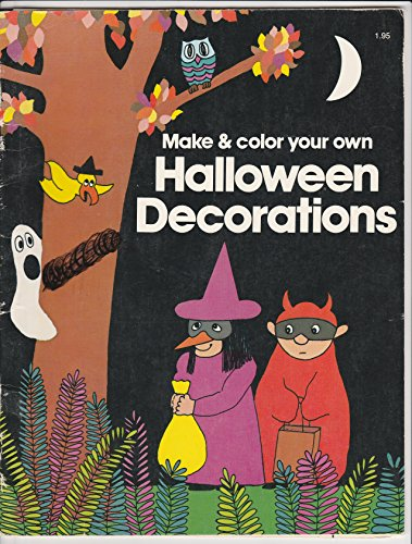 Make and Color Halloween Decoration: Jill E. Osborne