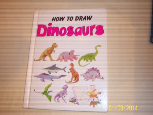 9780893756833: How to Draw Dinosaurs