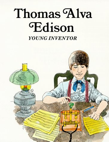 Thomas Alva Edison: Young Inventor (Easy Biographies) (0893758426) by Sabin