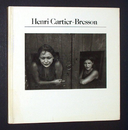 Henri Cartier Bresson the Aperture History of Photography Book 1