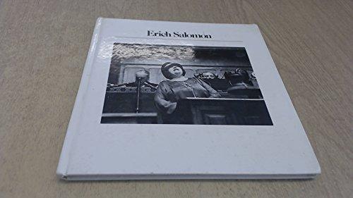 9780893810238: Erich Salomon (History of Photography)