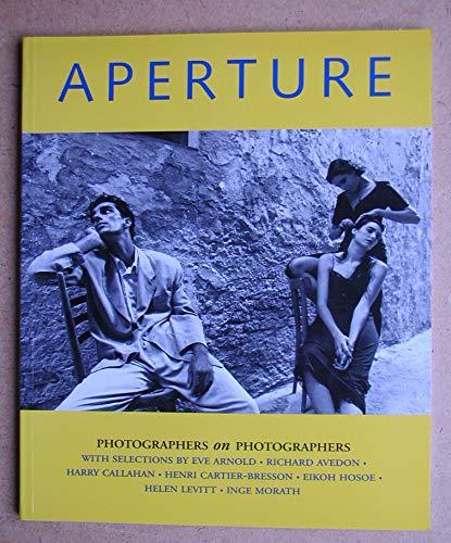 9780893817732: Photographers on Photographers (Aperture Magazine)