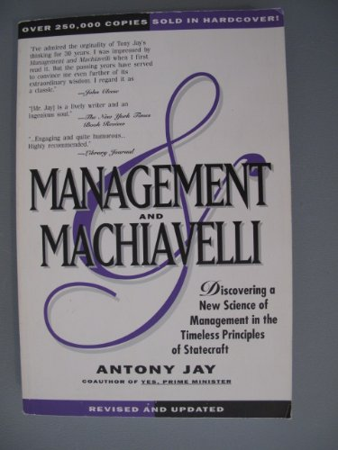 9780893842604: Management and Machiavelli
