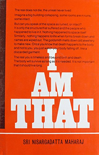 9780893860028: I Am That: Talks With Sri Nisargadatta Maharaj