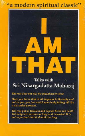 9780893860226: I Am That: Talks With Sri Nisargadatta