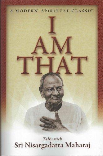 9780893860462: I Am That: Talks With Sri Nisargadatta Maharaj