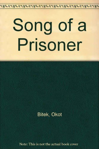 9780893880057: Song of a Prisoner