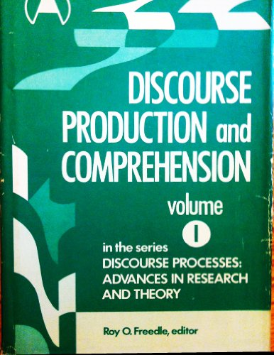 9780893910013: Discourse Production and Comprehension (Advances in Discourse Processes)