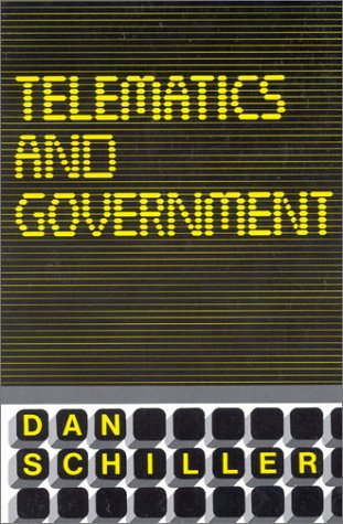 9780893911294: Telematics and Government (Communication & Information Science)