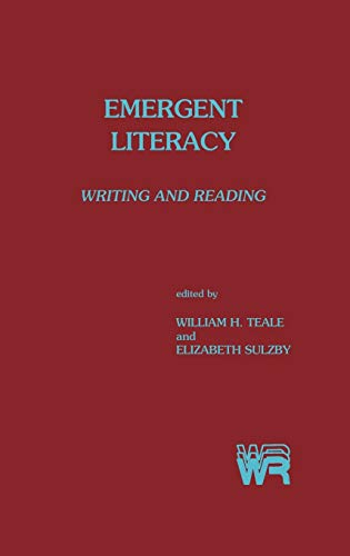 9780893913014: Emergent Literacy: Writing and Reading (Writing Research)