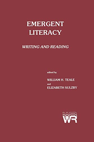 9780893913854: Emergent Literacy: Writing and Reading