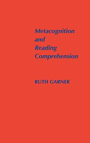 9780893913984: Metacognition and Reading Comprehension (Cognition and Literacy Series)