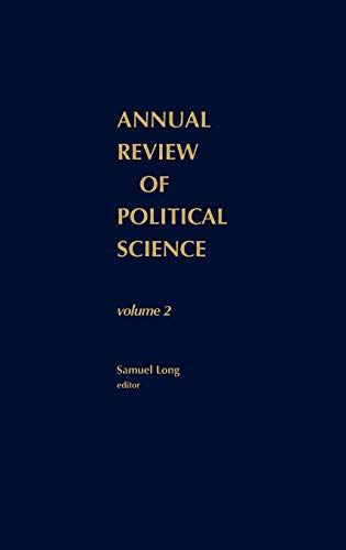 Annual review political science - AbeBooks