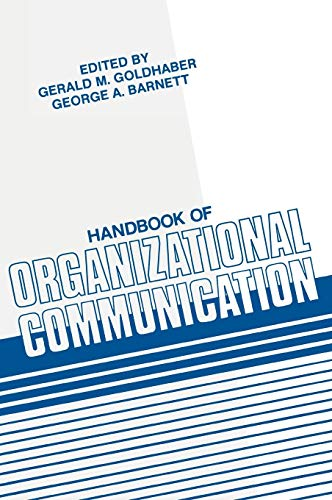 9780893914462: Handbook of Organizational Communication:
