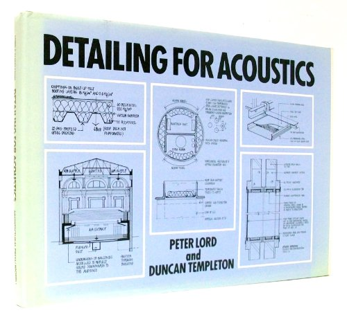 9780893971618: Detailing for acoustics