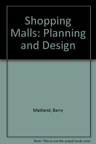 9780893972264: Shopping Malls: Planning and Design