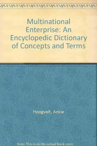 Multinational Enterprise: Anthony Puxty; Ankie