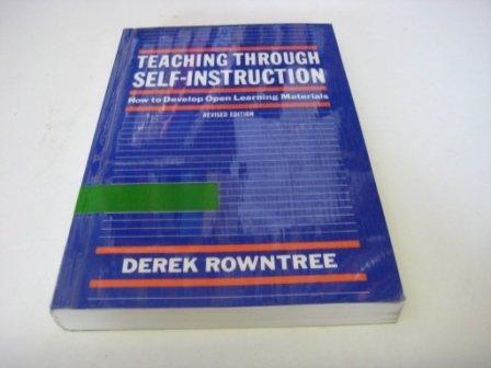 9780893972509: TEACHING THROUGH SELF-INSTRUCTION