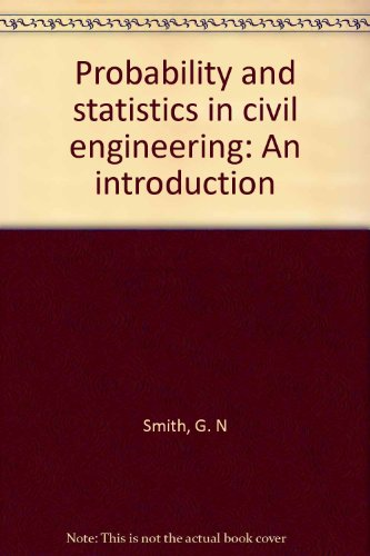 9780893972516: Probability and statistics in civil engineering: An introduction