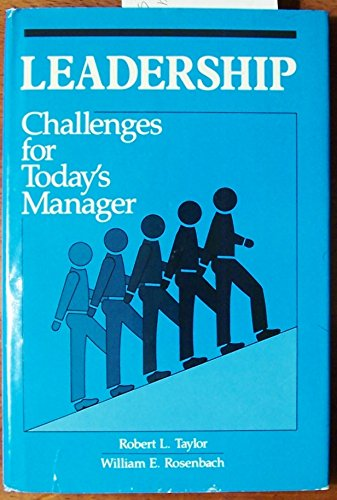 9780893973179: Leadership: Challenges for Today's Manager