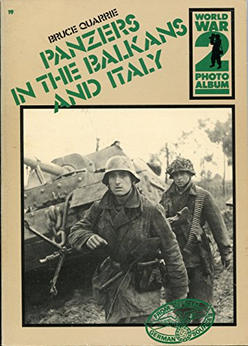 9780894040597: Panzers in the Balkans and Italy