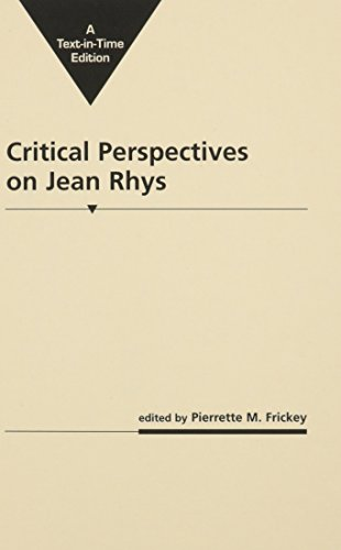 9780894100581: Critical Perspectives on Jean Rhys