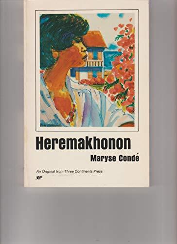 9780894102332: Heremakhonon: A Novel