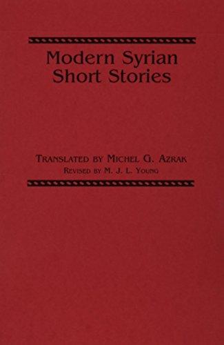 Modern Syrian Short Stories (Three Continents Press): M. J. L.