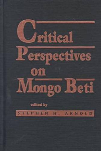 9780894105869: Critical Perspectives on Mongo Beti (Three Continents Press)