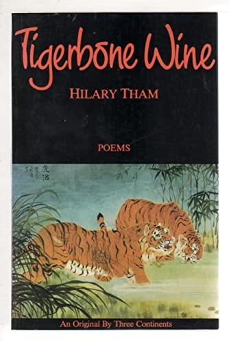 9780894107283: Tigerbone Wine: Poems