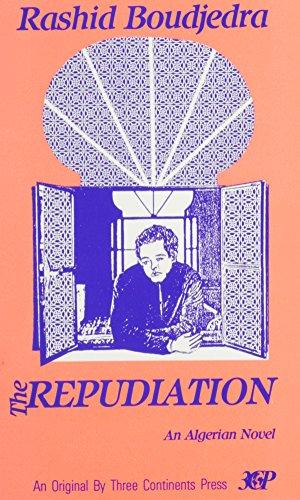 9780894107290: The Repudiation: A Novel (Three Continents Press)