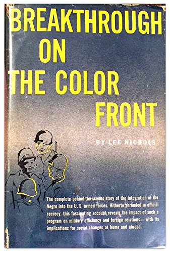 9780894107719: Breakthrough on the Color Front