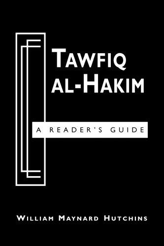 9780894108853: Tawfiq Al-Hakim: A Reader's Guide