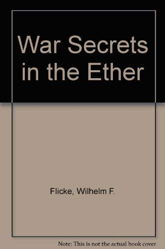 9780894122330: War Secrets in the Ether
