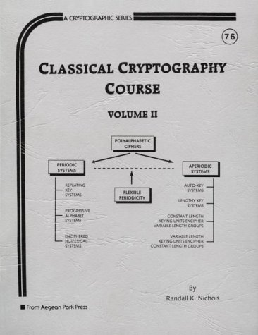 9780894122644: Classical Cryptography Course, Volume 2,