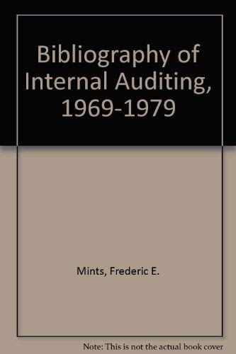 9780894130915: Bibliography of Internal Auditing, 1969-1979