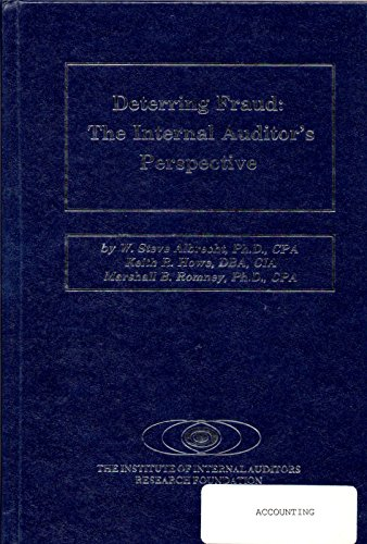 9780894131172: Deterring Fraud: The Internal Auditor's Perspective