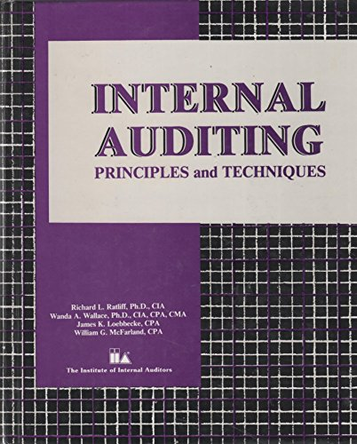 9780894131677: Internal Auditing: Principles and Techniques