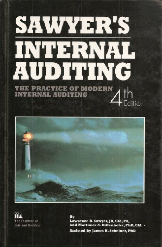9780894133367: Sawyer's Internal Auditing